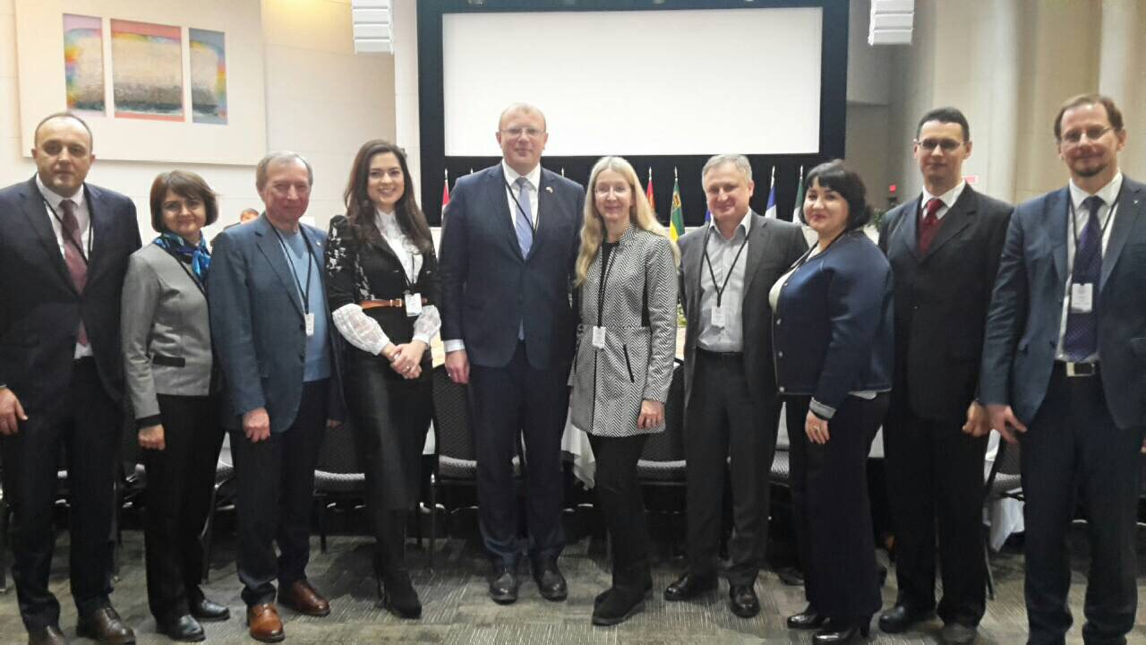 ukrainian delegation participated in the global