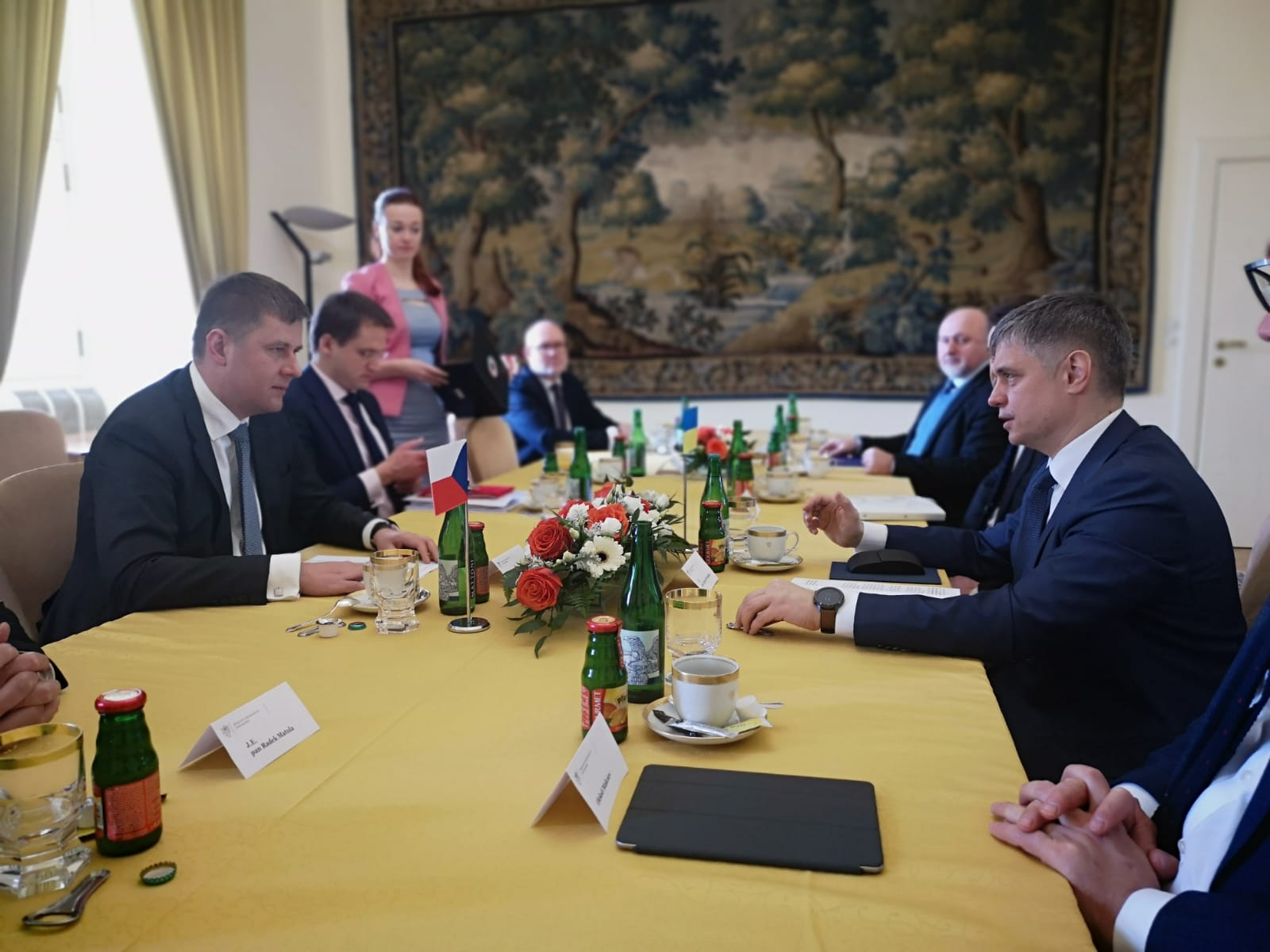 foreign minister vadym prystaiko visits the czech republic
